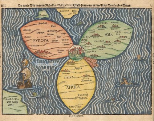 Map of the World 1581