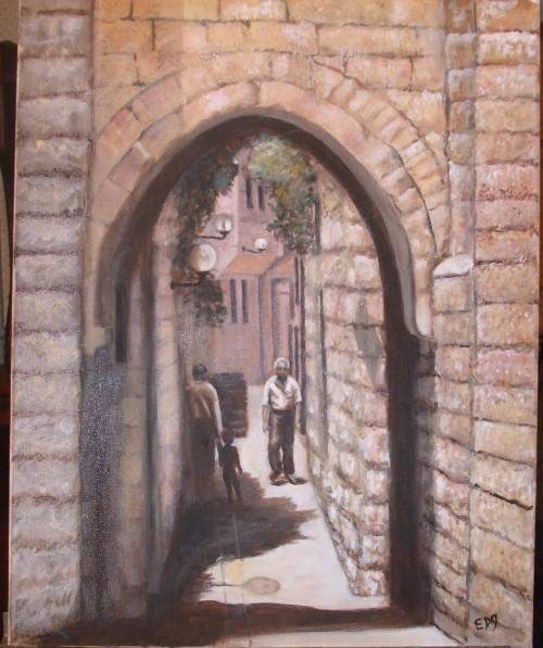 Jerusalem Street Scene