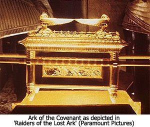 instructions for carrying the ark of the covenant