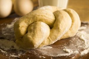 Challah-dough
