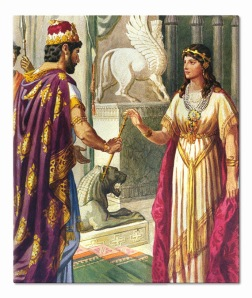 Xerxes the Great with Queen Esther